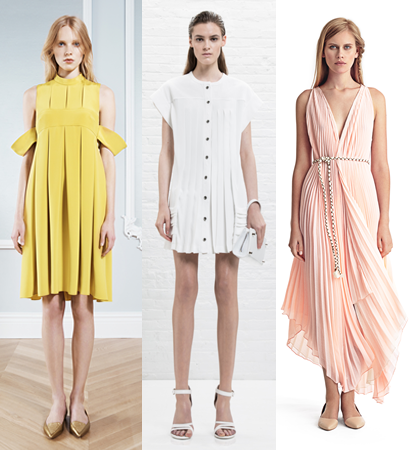 Resort 2014 Dress Trends: Pleated