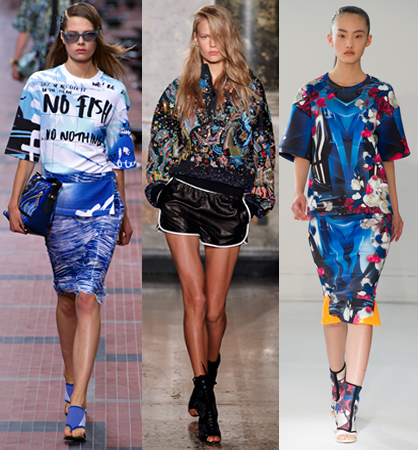 S/S 14 Trend: All Over Print
