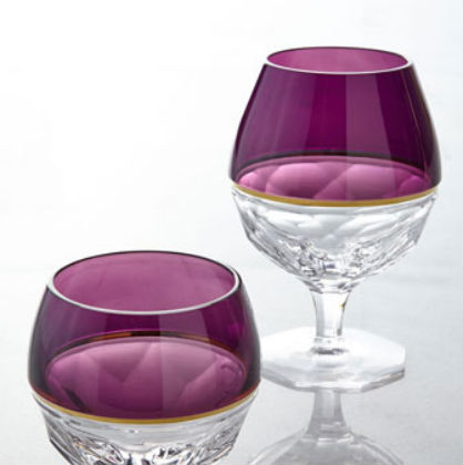 For the Home: Radiant Orchid Glasses