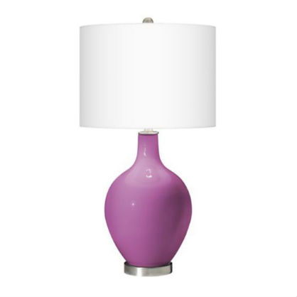 For the Home: Radiant Orchid Lamp