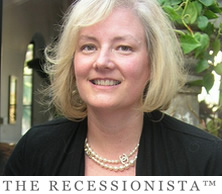 Mary Hall- Recessionista