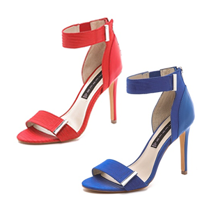 Red and Blue Heels for Fourth of July