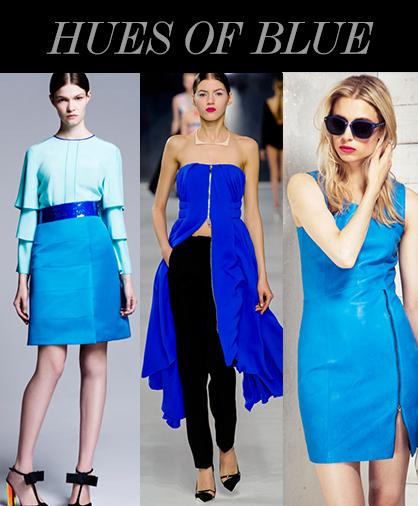 Resort 2014 Color Trends: Blue