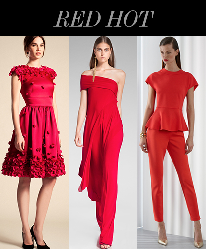 Resort 2014 Color Trends: Red