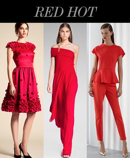 Resort 2014 Color Trends: Red