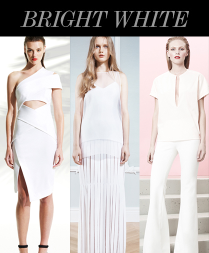 Resort 2014 Color Trends: White