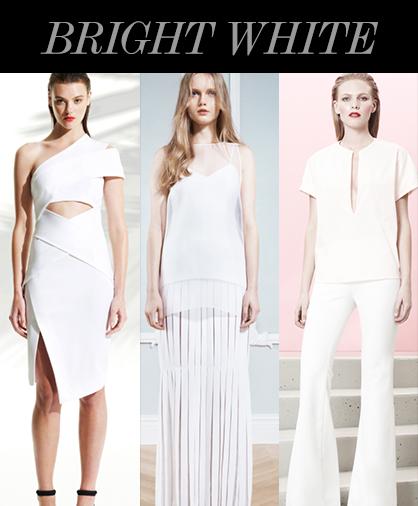 Resort 2014 Color Trends: White