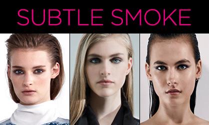 Resort 2014 Beauty Subtle Smoke
