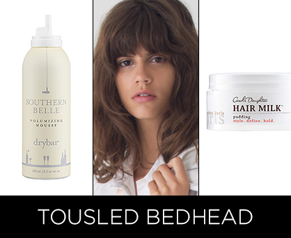 Resort 2014 Beauty Trends: Bedhead