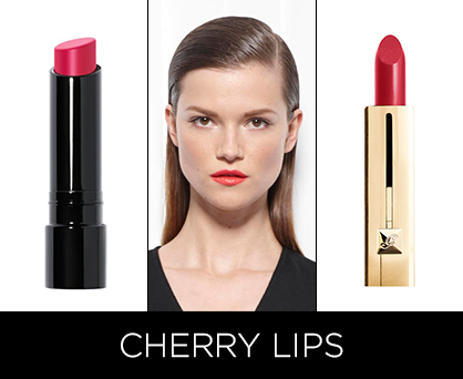 Resort 2014 Beauty Trends: Cherry Lips