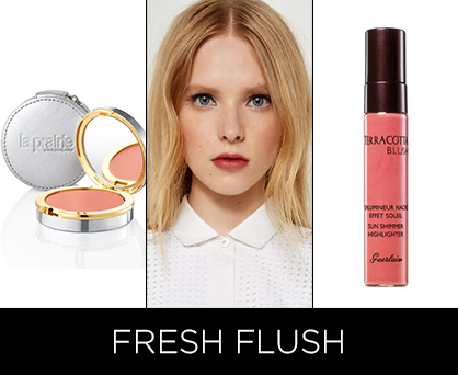 Resort 2014 beauty trends: Fresh flush