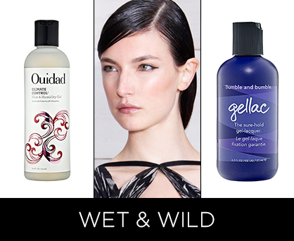 Resort 2014 Beauty Trends: Wet and Wild Hair