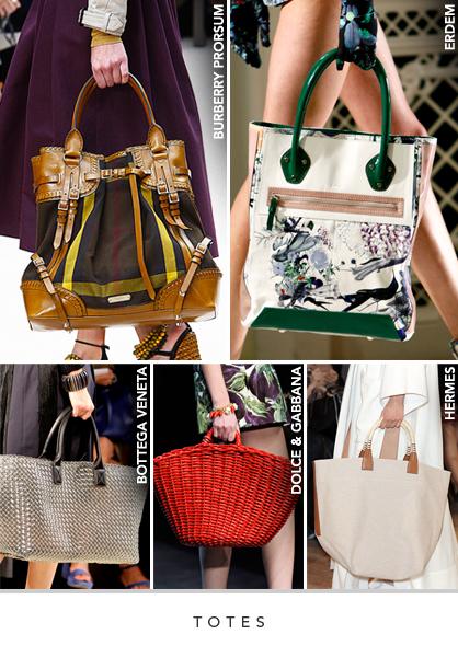 d92e6f190504 Spring 2012 Runway Trends: Handbags | LadyLUX - Online Luxury ...