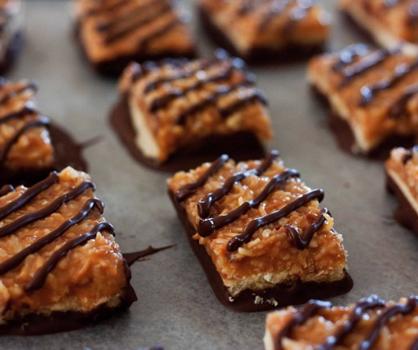 Dessert Recipe: Samoa Bars