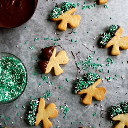 St. Patrick's Day Desserts: Shamrock Cookies