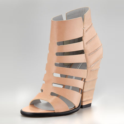 Tan Cage Wedges