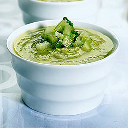 Healthy Recipes: Zucchini and Avocado Soup