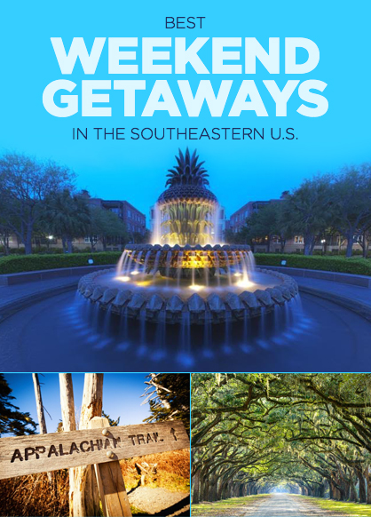 unexpected weekend getaways in the southeastern u s