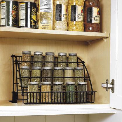 Kitchen Cabinet Spice Organizers 10 tips for an organized kitchen | ladylux - online luxury
