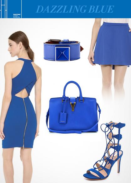 Spring 2014 Color Trends: Dazzling Blue