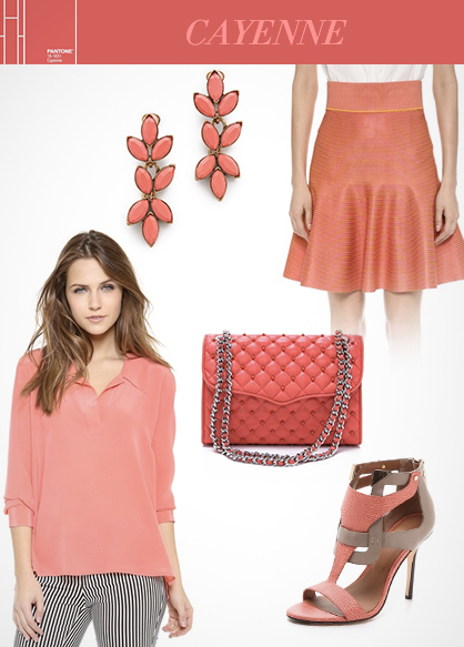 Spring 2014 Color Trends: Cayenne