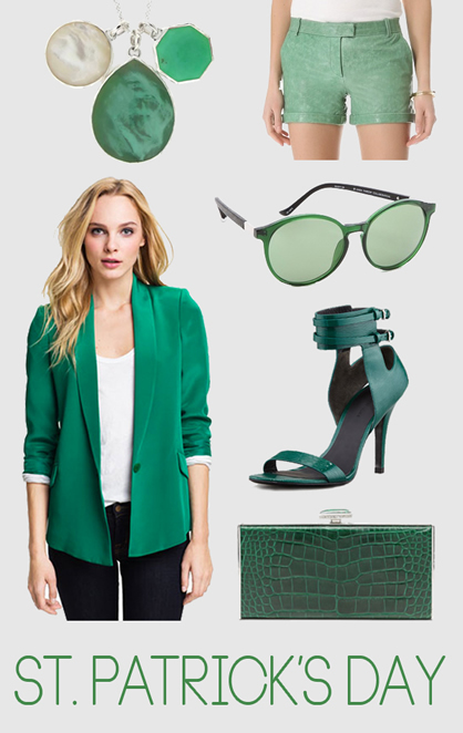 8cd5727b3 10 Ways to Wear Green for St. Patrick's Day | LadyLUX - Online ...