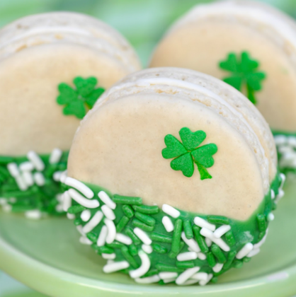 St. Patrick's Day Desserts: Macarons