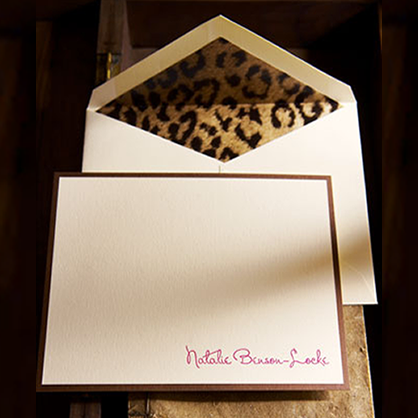 Leopard Stationary