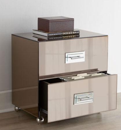 Mirrored Storage Cabinet