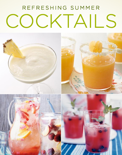 It's never too late to enjoy a luscious summer cocktail. Here are our ...
