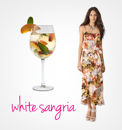 Dresses Inspired by Cocktails: White Sangria