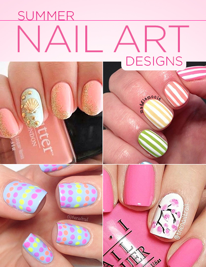 spring and summer nail art designs ladylux online luxury