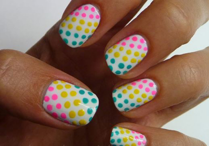 Summer Nail Art Candy-Colored