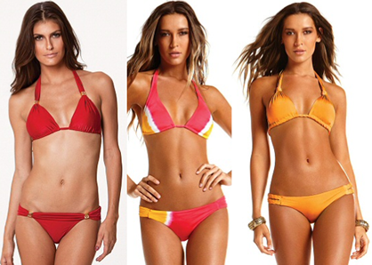 swimwear for an hourglass shape