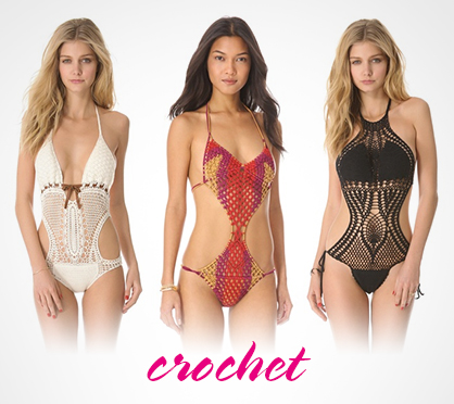 2013 Swimwear Trends Crochet
