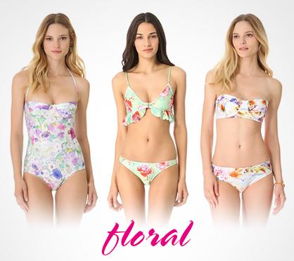 2013 Swimwear Trends Floral