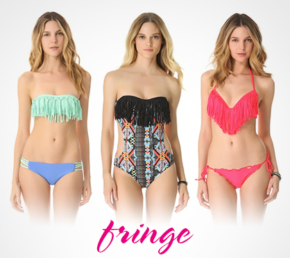 2013 Swimwear Trends Fringe