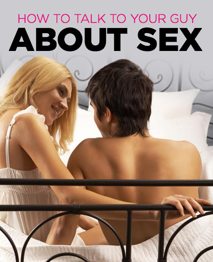 Talking aboutsex and relationships