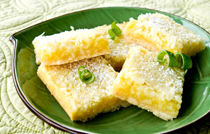 Tequila Treats Tequila Lime Coconut Macaroon Bars