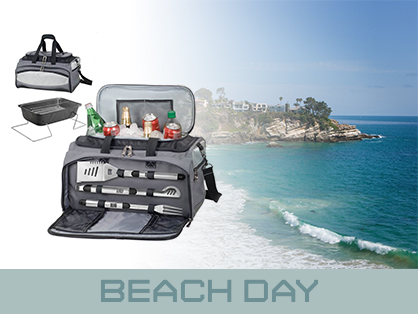 Travel Gadgets Beach Day Buccaneer BBQ Grill