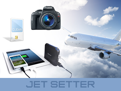 Travel Gadgets Jet Setter Canon Camera Clear Card Travel Charger