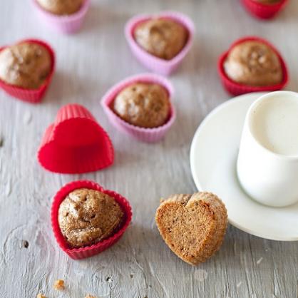 Valentine's Day Breakfast: Heart Muffins