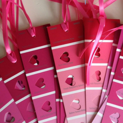 Valentine's Day DIY Bookmark