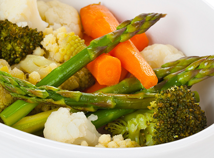 Healthy Cooking: Steamed Vegetables