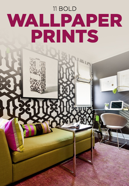11 Bold Wallpaper Prints