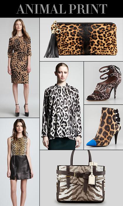 Pre-Fall 2013 Animal Print Trend