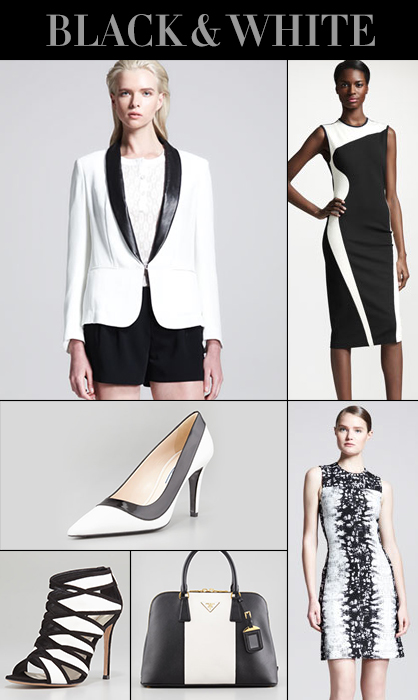 Pre-Fall 2013 Black and White Trend