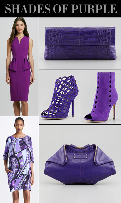 Pre-Fall 2013 Shades of Purple Trend