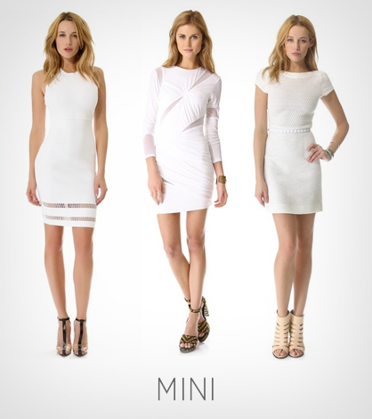 Summer Staple: The Little White Dress | LadyLUX - Online Luxury ...