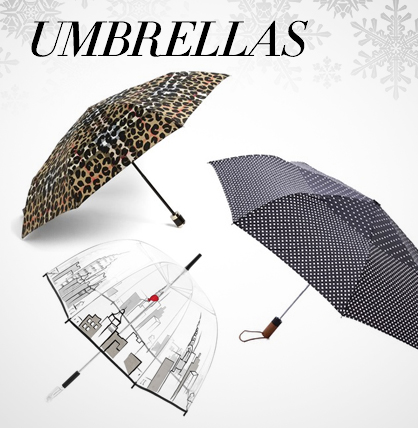 Winter Accessories: Umbrellas
